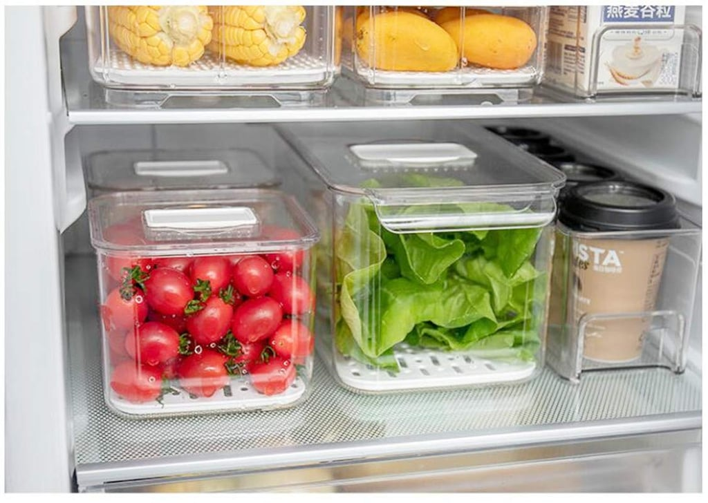Sanno Fridge Food Storage Containers Produce Saver