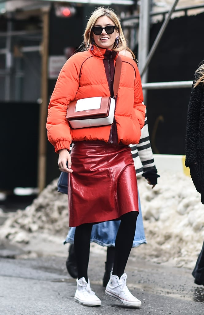 54e7d33abf Wear Them With a Patent Leather Skirt and a Puffer Coat