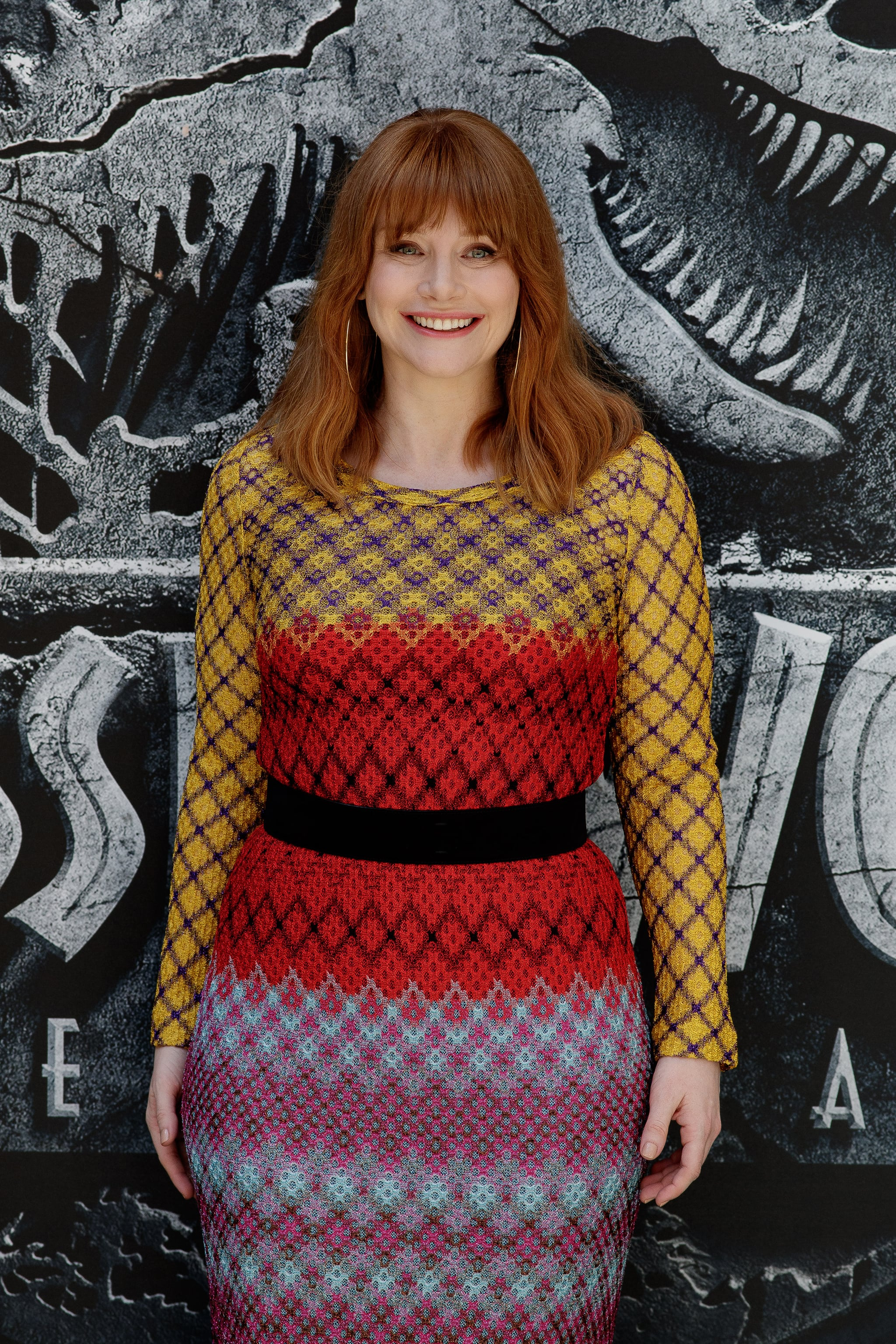 MADRID, SPAIN - MAY 22:  Actress Bryce Dallas Howard attends the 'Jurassic World: Fallen Kingdom'  ('Jurassic World: El Reino Caido') photocall at Villamagna hotel on May 22, 2018 in Madrid, Spain.  (Photo by Eduardo Parra/WireImage)