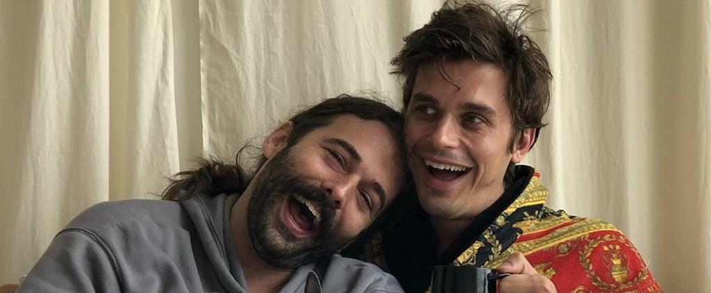 Antoni and Jonathan Van Ness Joke Instagram Account JVNtoni