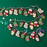 Stocking Advent Calendar Garland
