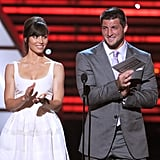 Jessica Biel and Tim Tebow applauded Jeremy Lin on his ESPY award.