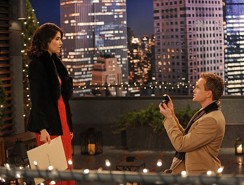 How i met your mother barney and robin