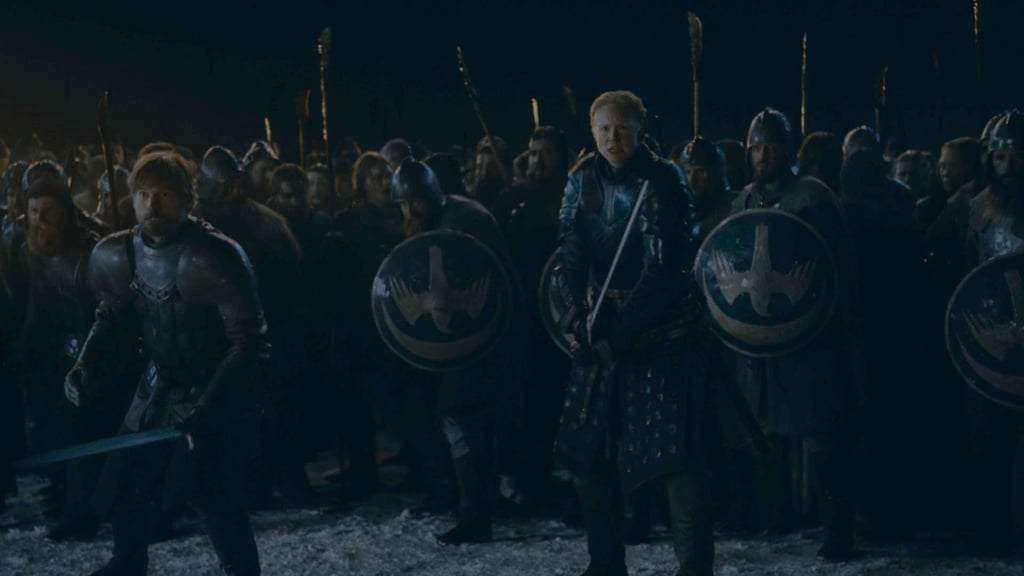 Game of Thrones Released Photos of the Battle of Winterfell, and We're Worried For Our Faves