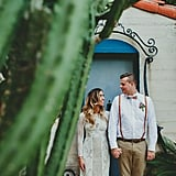 Trendy Palm Springs Wedding