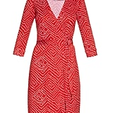 DVF New Julian Two Wrap Dress ($398)