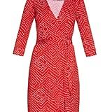 DVF New Julian Two Wrap Dress ($398)