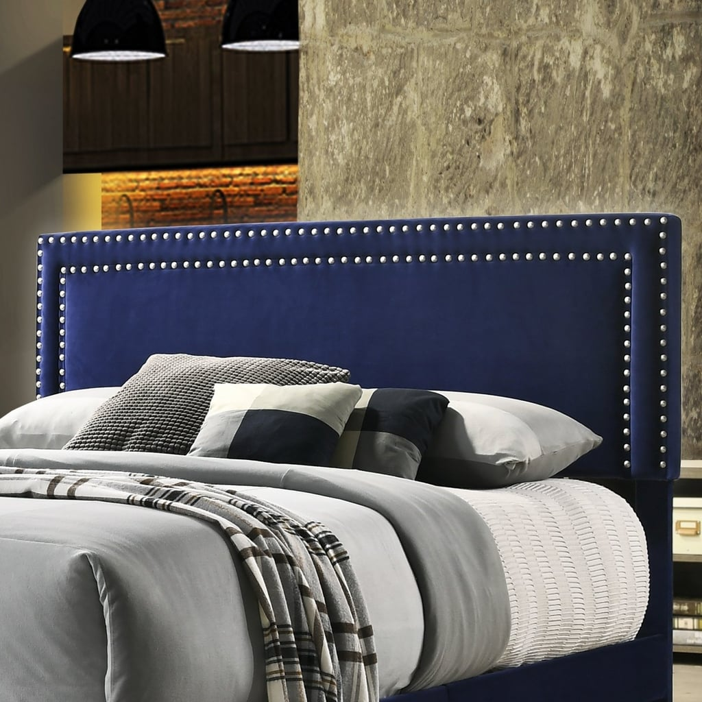 Upholstered Velvet Fabric Headboard