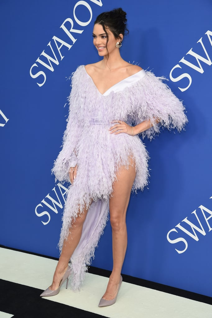 Kendall Jenner's Purple Dress CFDA Awards 2018