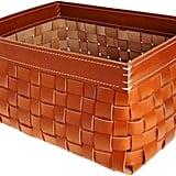 Arte & Cuoio Woven Basket-Nude ($995)