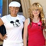 Raven-Symoné and Lindsay Lohan