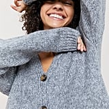 UO Ozzy Boxy Button-Front Cardigan