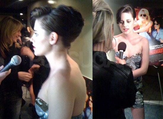 Photos of Kristen Stewart at The Runaways Premiere in NYC