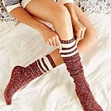 Marled Varsity Socks ($16)