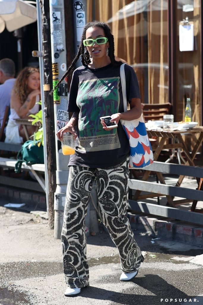 Solange Knowles in West Hollywood
