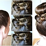 Hair Bow With a Bun