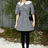 Diane Kruger wore Chanel to the Chanel Spring/Summer 2013 Haute Couture show in Paris on Tuesday.