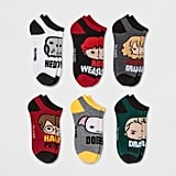 Women's Harry Potter 6-Pack Low-Cut Socks