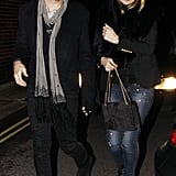 Kate Moss and Jamie Hince Do Dinner and a Movie for Valentine's Day
