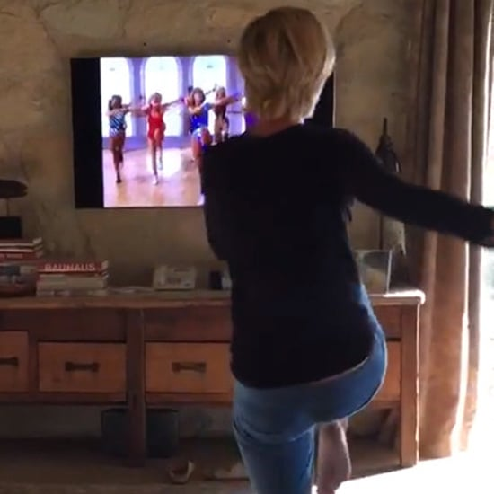 Ellen DeGeneres Secretly Films Portia de Rossi Working Out