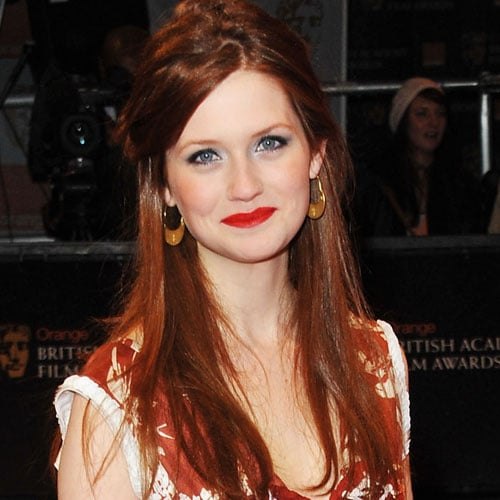 Bonnie Wright's Beauty Look at the 2011 BAFTA Awards
