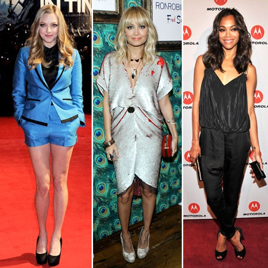 Best Celebrity Party Outfits Winter 2011