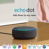 Echo Dot (3rd Gen) Smart Speaker With Alexa