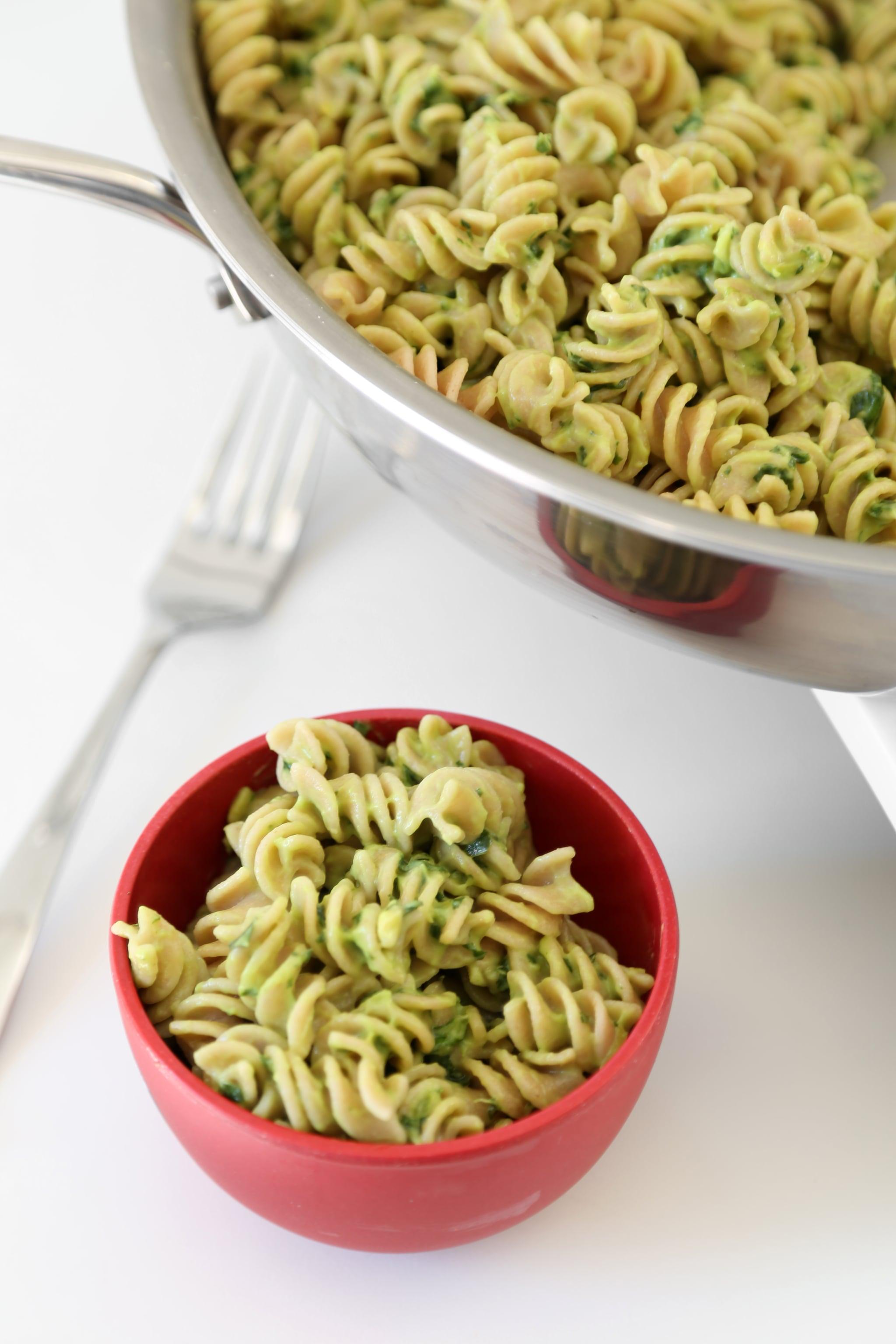 Easy Vegan Avocado Pasta Recipe Popsugar Food
