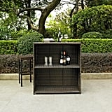Palm Harbor Wicker Patio Bar Furniture Set