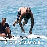 Jason Momoa Shirtless in Hawaii Pictures June 2018