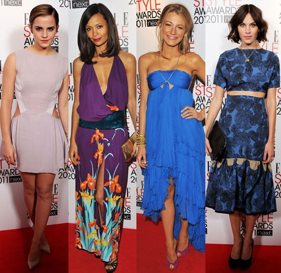 Pictures of Emma Watson, Blake Lively, Alexa Chung, and More at Elle Style Awards