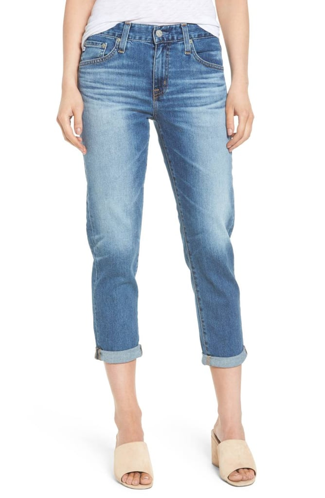 AG Crop Slim Jeans
