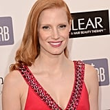Jessica Chastain showed a smile at the Critics' Choice Awards.