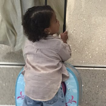 North West Riding on Suitcase Style