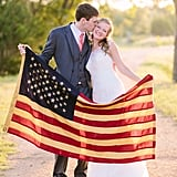 Fourth of July Wedding Photos