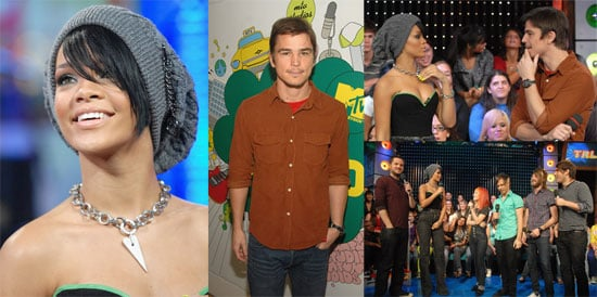 Josh and Rihanna's Total Request Love