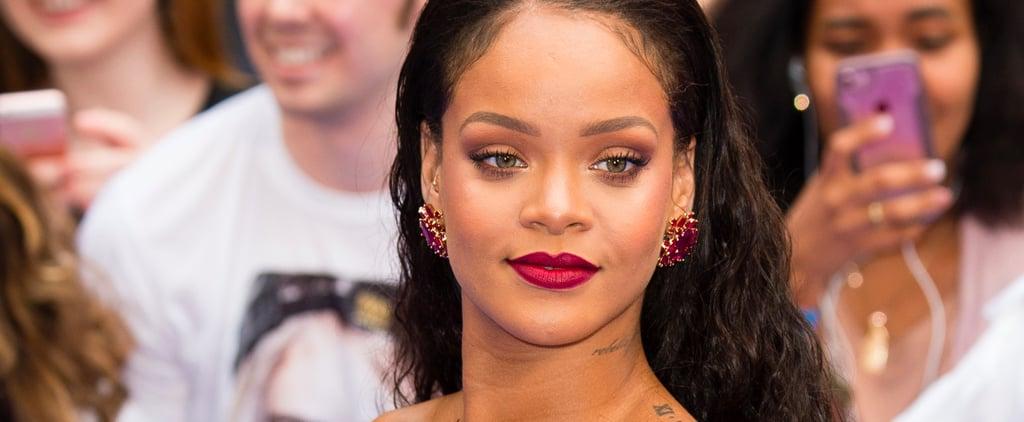 Rihanna Is Rocking Bright Blue Hair — and She Looks Like a Frickin' Mermaid!