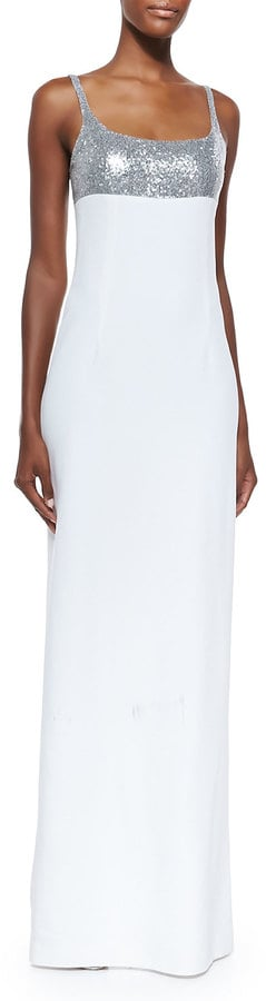 Michael Kors Sequined Tank Gown ($3,995)