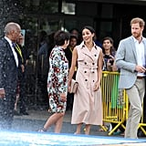 Prince Harry and Meghan Markle Visit Nelson Mandela Exhibit