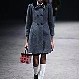 Gray Coat: Gucci