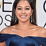 Gina Rodriguez at the Golden Globes