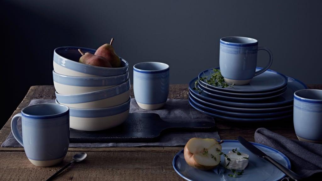 Brushed Glazed Polar Blue Collection