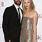 Michael Polish and Kate Bosworth posed together in Sydney.