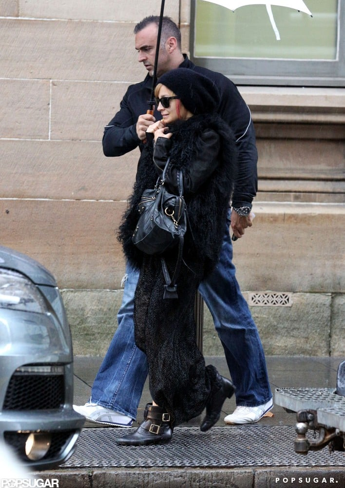 Nicole Richie wore a black hat out in Australia.