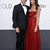 Kenneth and Catie Cole at the amfAR gala in Cannes.