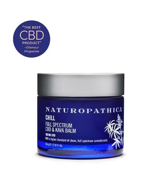 Naturopathica Chill Full Spectrum CBD and Kava Balm