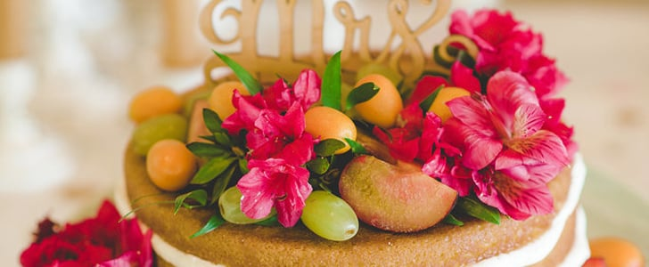 10 Floral Wedding Cakes That Pop With Color