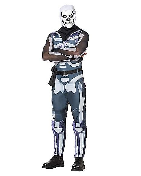 Adult Skull Trooper Costume From Fortnite