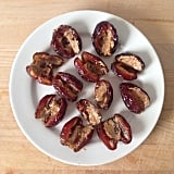 They may look ugly as sin, but fresh dates stuffed with almond spread are such a delicious and easy snack. A bit of a POPSUGAR Australia favourite, in fact.