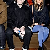 Anton Yelchin and Isabel Lucas at Y-3